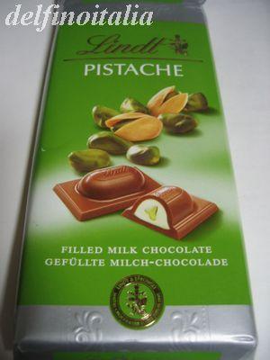 リンツのピスタチオ・チョコ