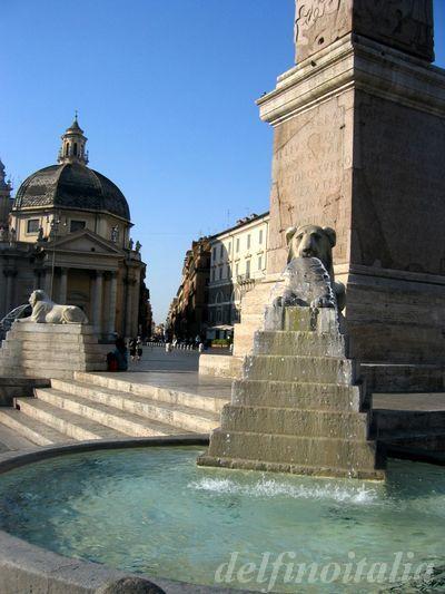 ポポロ広場噴水