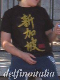 フォロロマーノの漢字Tシャツ