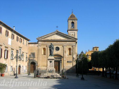 バーニョレッジョの教会