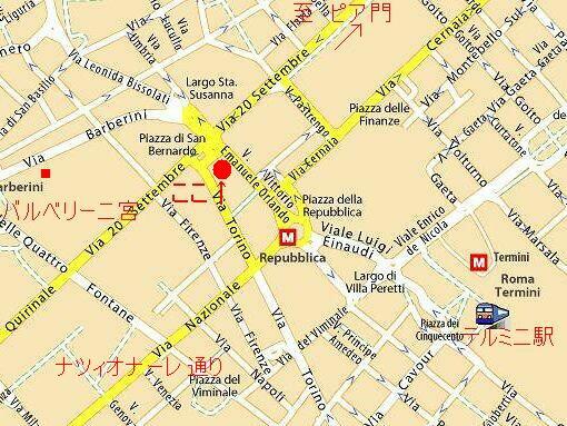 教会周辺地図