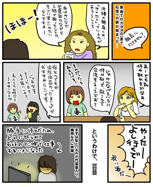 竹富・波照間島1