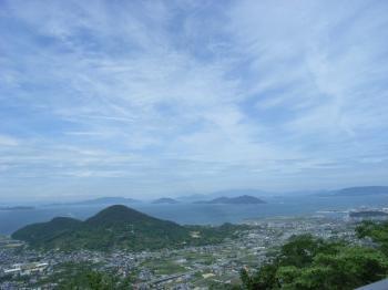 根香寺への道中