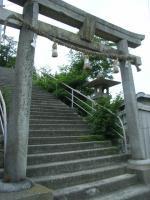 皇子神社入り口