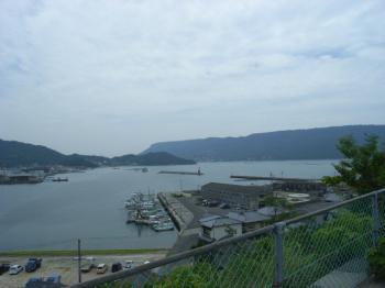 皇子神社からの景色・屋島側