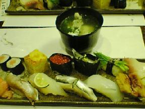 極上のお寿司