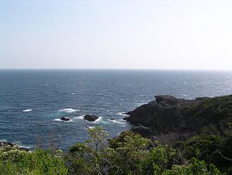 石廊崎からの眺め