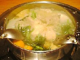 ちゃんこ鍋(塩味)