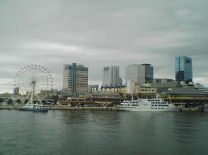 神戸港の景色