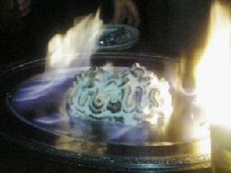 燃えるキリマンジャロ
