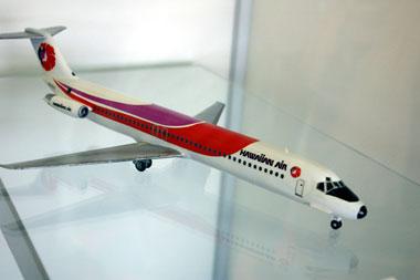 ハワイアン航空模型