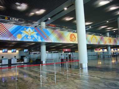 マカオ空港 チェックインフロア