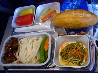 マカオ→関空 機内食2