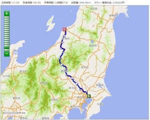 船橋-新潟