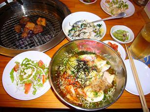 冷麺ミニビビンバ定食