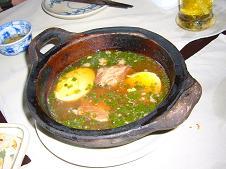 豚肉と卵の煮込み