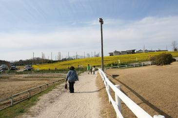 愛知牧場2009年4月 お帰り途中