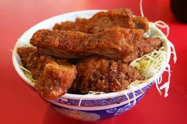 玉龍飯店 ソースかつ丼 1000円
