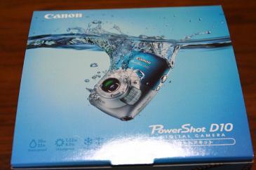 PowerShot D10 箱