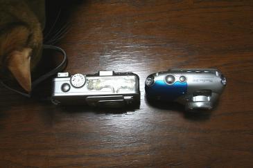 PowerShot D10 PowerShotS60 との比較
