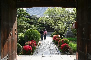江南市 曼荼羅寺 庭園