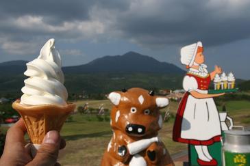 九州 2009GW 高千穂牧場のソフトクリーム