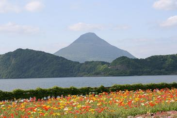 九州 2009GW 池田湖と開聞岳