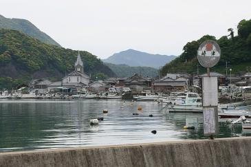 九州 2009GW 崎津 漁港にある教会