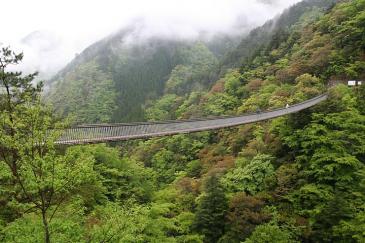九州 2009GW 五木五家荘 梅の木轟公園吊橋