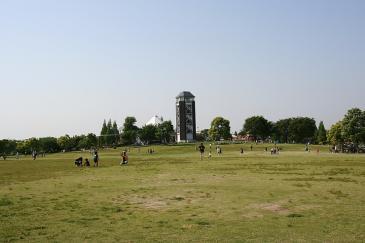 戸田川緑地 芝生広場