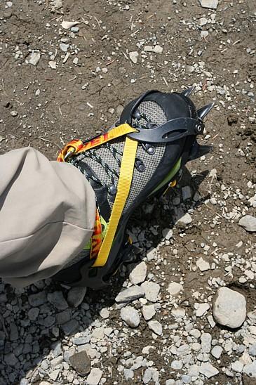 御岳山2009年5月10日 冬期登山靴とアイゼン