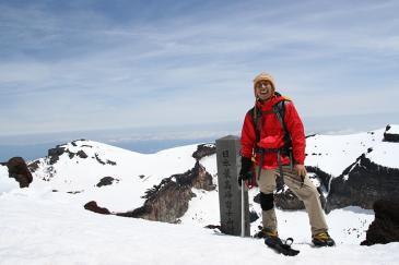 富士山 剣ヶ峰頂上