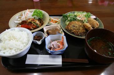 道の駅 豊根 元気の出るご飯(日替わり定食)