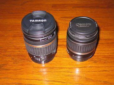 TAMRON SP AF17-50 F2.8 と CANON EF-S 18-55 Ⅱ F3.5-5.6 USM