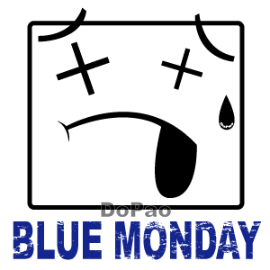 BlueMonday 憂鬱な月曜日 オリジナルデザイン