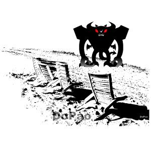 Monster On Land モンスター上陸 オリジナルデザイン
