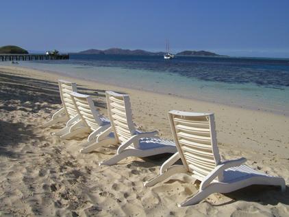フィジー砂浜の写真