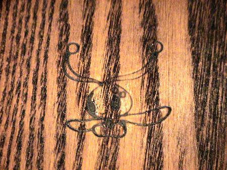 マナフィの焼印