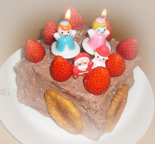 お正月クリスマスケーキ