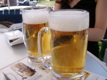今日も元気だ!ビールが旨い!