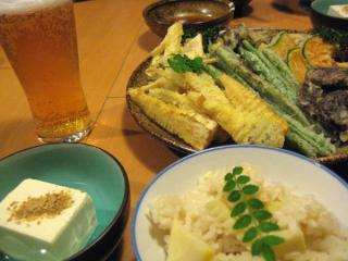 タケノコディナー