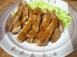 鶏肉の照り焼き(照り煮?)