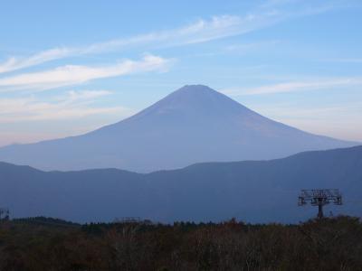 富士は日本一の山~♪