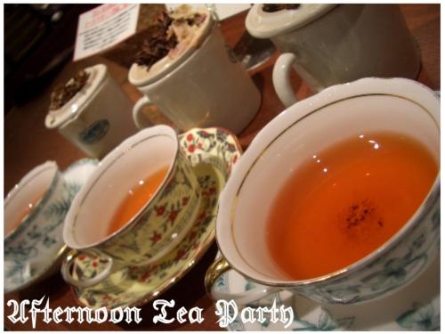 スイーツ 紅茶 茶葉 横