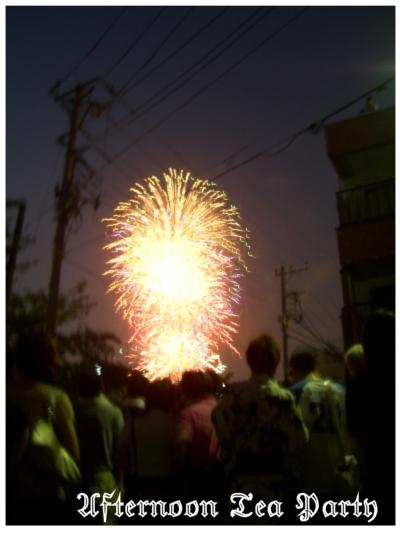 隅田川花火大会 風景