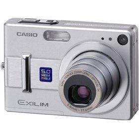 デジタルカメラ エクシリム Z55 シルバー