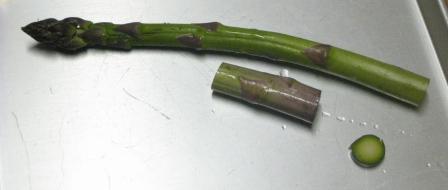 アスパラガスの切り方