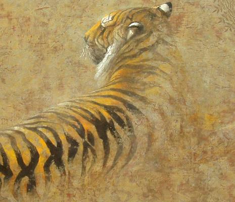 「虎」・部分