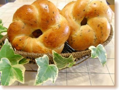 ごまリングパン