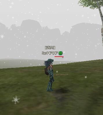 天候の要素も雪は珍しいかな